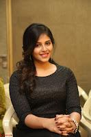 Anjali in Black Short Dress at Chitrangada Movie Success Meet ~  012.JPG