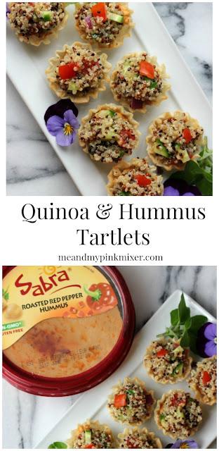 Quinoa & Hummus Tartlets