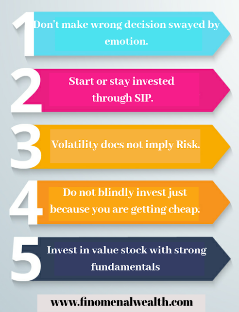 The do and don't for investors in volatile markets