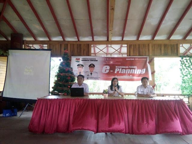 Terapkan E-Planing, BAPPEDA Mitra Gelar Workshop