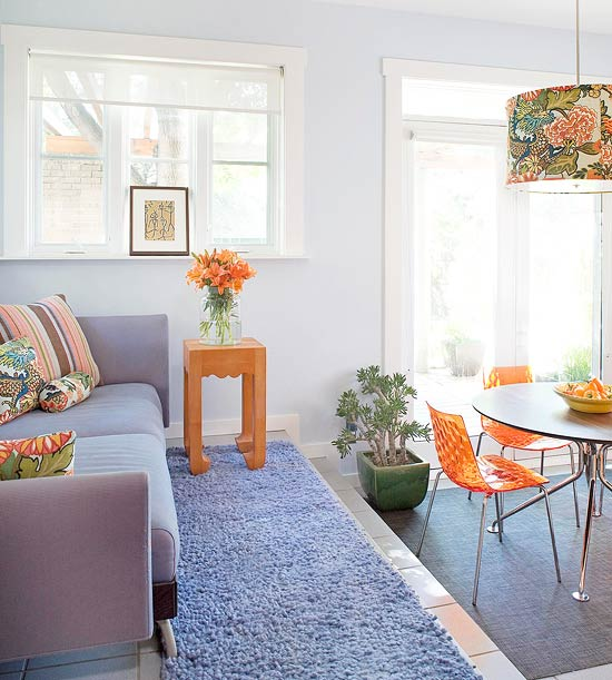 Complementary Color Scheme Room: Modern Furniture: Decorating Design Ideas 2012 With Blue Color