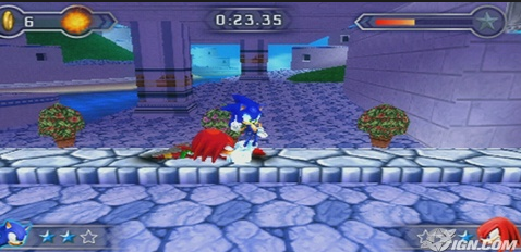PPSSPP Sonic Rivals