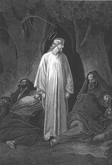 The Sleep of the Disciples - Alexandre Bida