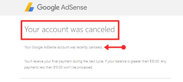 Adsense account ko delete kaise kare