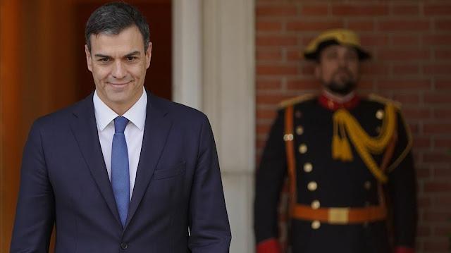 Pedro Sánchez en imagen