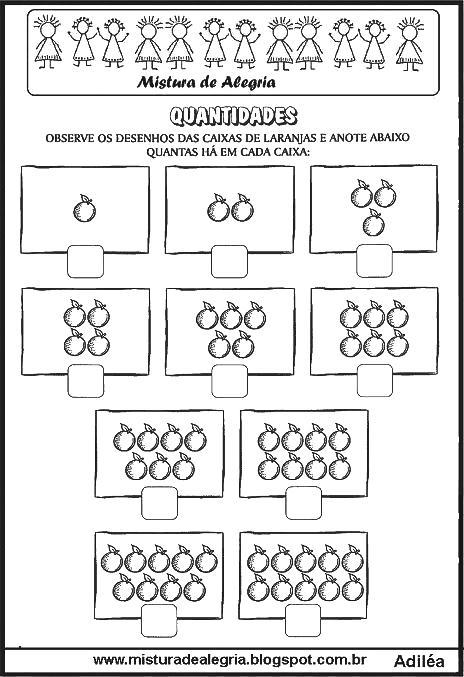 Conhecido ATIVIDADES DE MATEMÁTICA PARA SÉRIES INICIAIS ALFABETIZAÇÃO  MA75