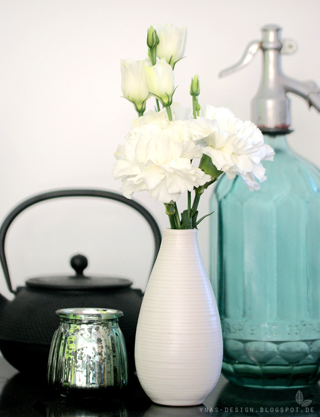 Ynas Design Blog, White Flowers