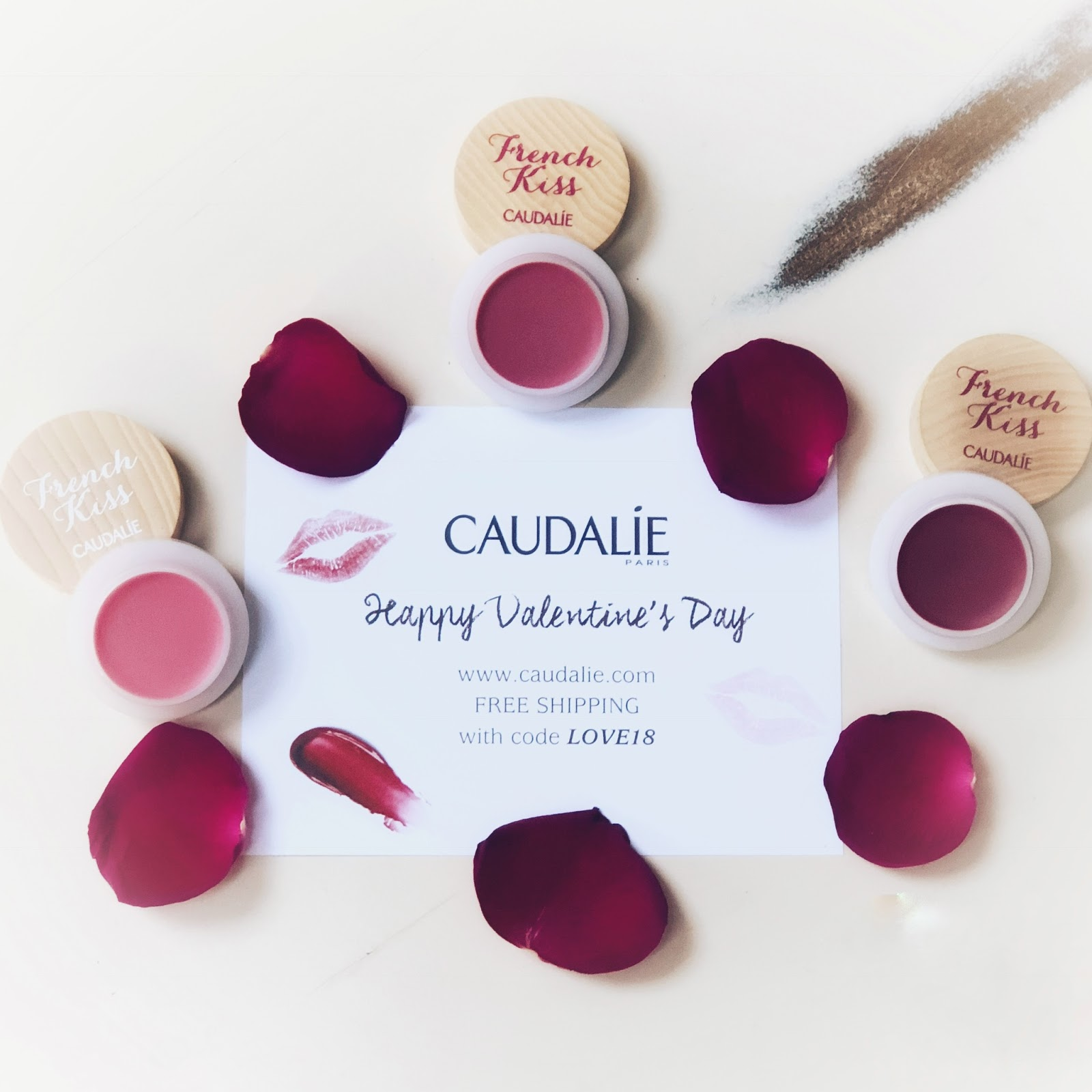 my midlife fashion, caudalie french kiss tinted lip balm