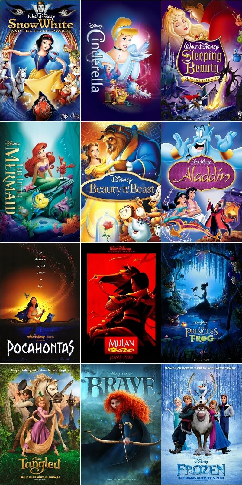 La Estrella Disney Las 12 Películas De Princesas Disney 2 Preguntas