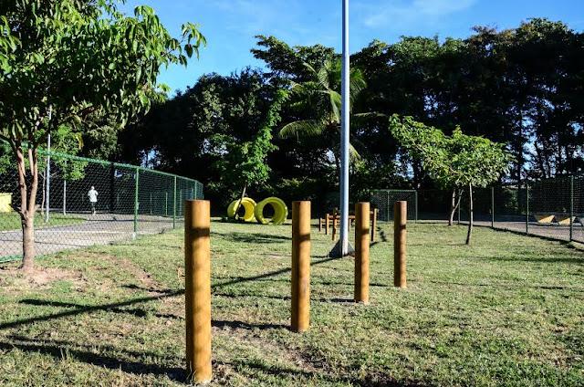 Parque Santana ganha o primeiro parque para cães da cidade