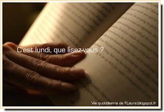 Vie quotidienne de FLaure : C'est lundi, que lisez-vous ?