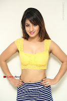 Cute Telugu Actress Shunaya Solanki High Definition Spicy Pos in Yellow Top and Skirt  0040.JPG
