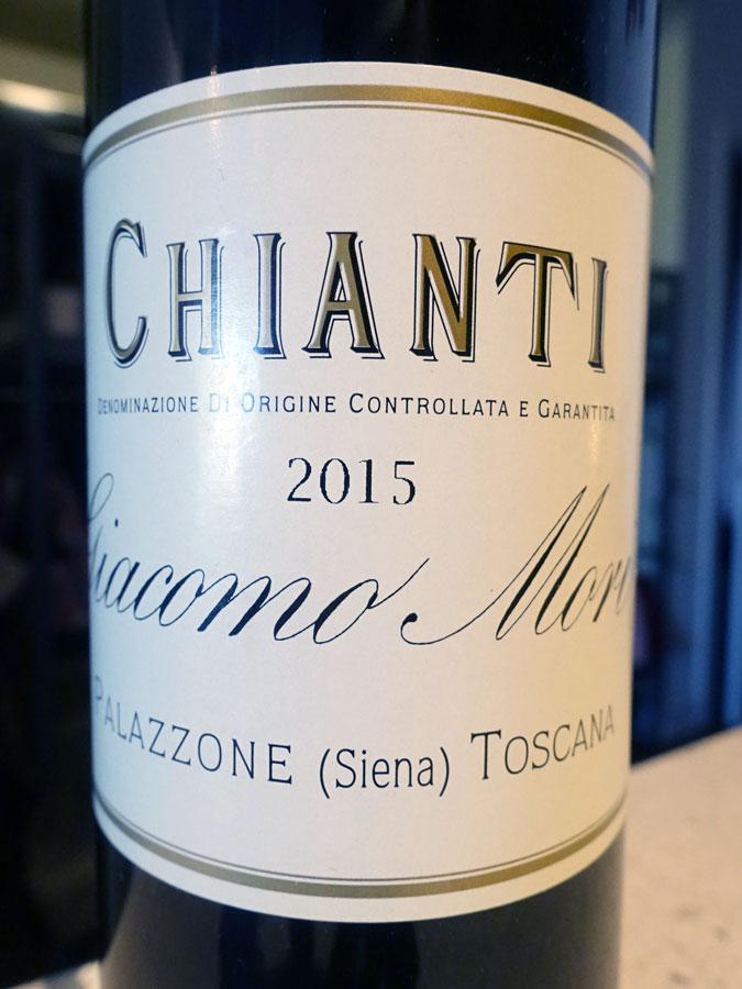 Giacomo Mori Chianti 2015 (90 pts)