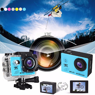 action cam wifi 4k sport camera on tenck