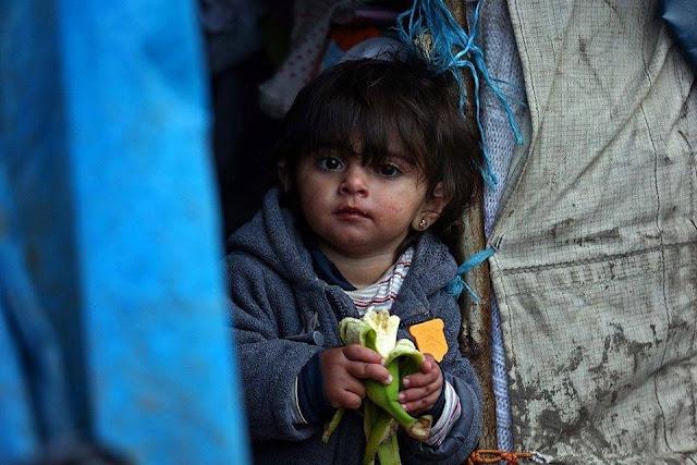 sisihkan uang anda untuk donasi anak muslim suriah via syamorganizer