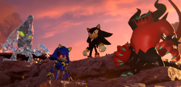 Sonic Forces presenta a sus enemigos: Chaos, Metal Sonic, Shadow... ¿Infinite?
