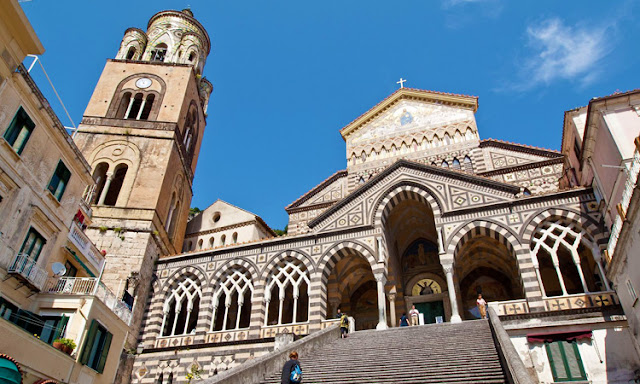 Catedral Santa Andrea em Amalfi