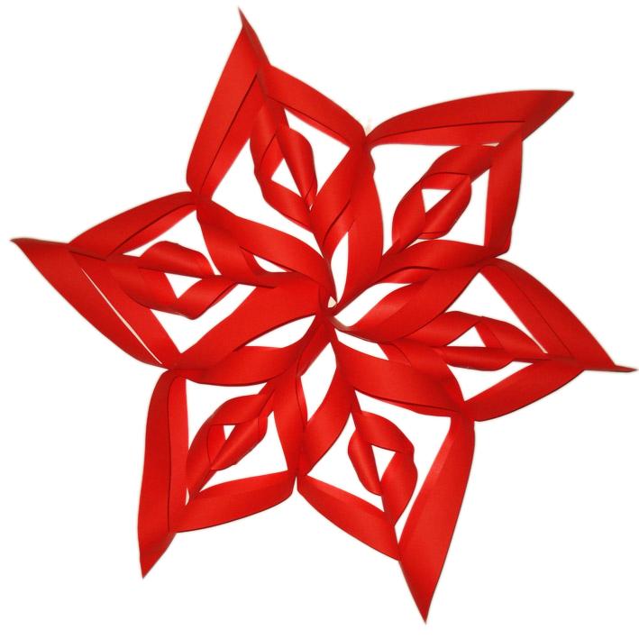 Blog Di Cinzia Bois Come Fare Una Stella Di Natale Con La