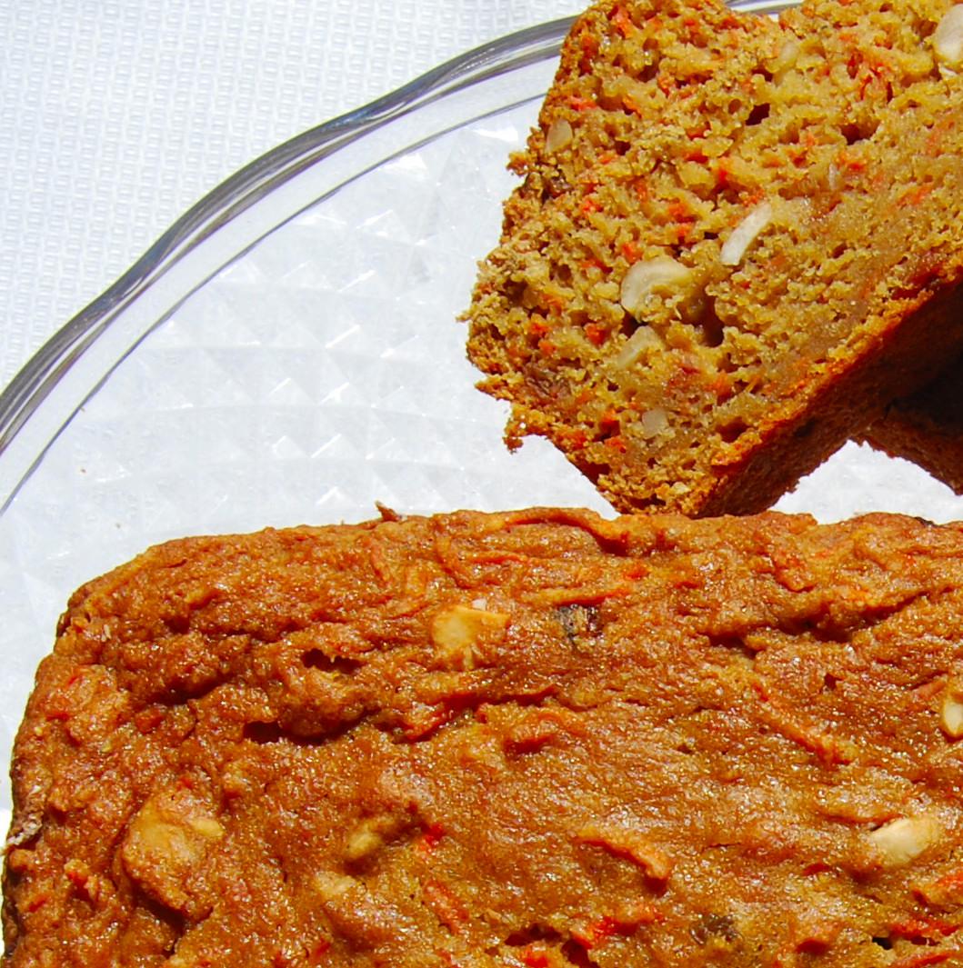 Low Fat Carrot Bread 10