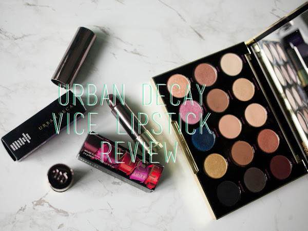 Beauty: Urban Decay Vice Lipstick Review - Disturbed and Pandemonium