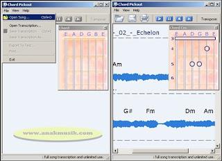 Aplikasi Pencari Chord Gitar Untuk PC Komputer dan Laptop