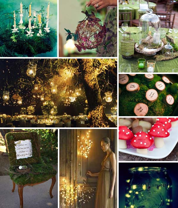 Outdoor Weddings Do Yourself Ideas: Swashbuckle The Aisle: Enchanted Forest Themed Wedding
