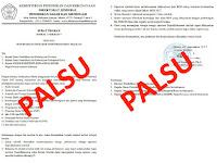Awas!!! Surat Palsu yang Meminta Data Sekolah Banyak Beredar