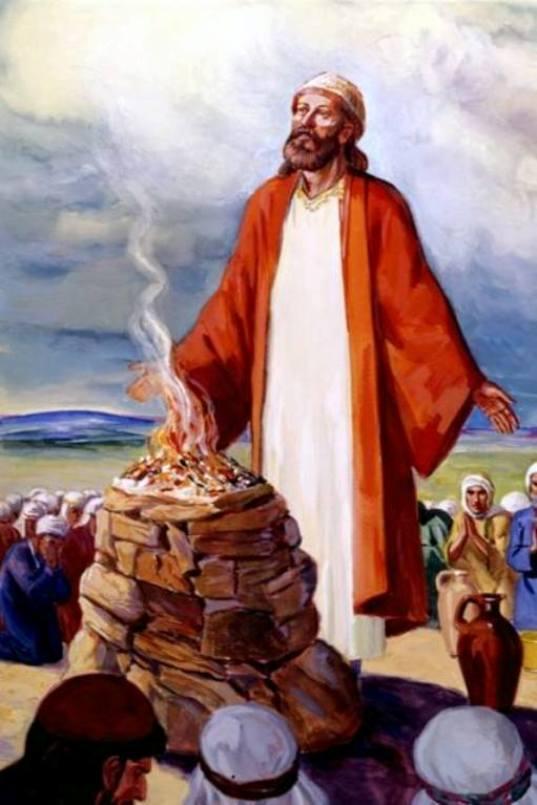 King Saul Made An Oath and Made A Sacrifice.