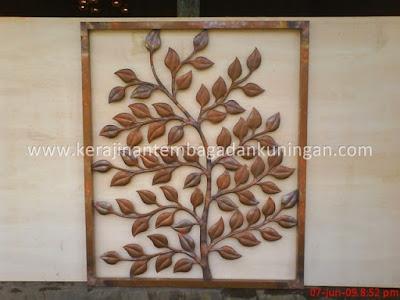 Hiasan Dinding Tembaga | Ornamen Tembaga Kuningan