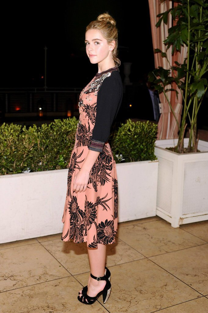 Kiernan Shipka attend Elles Annual Women In Television Celebration