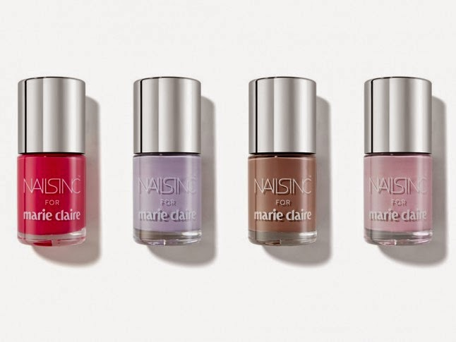 Marie Claire Magazine Freebies - Nails Inc Nail Polishes