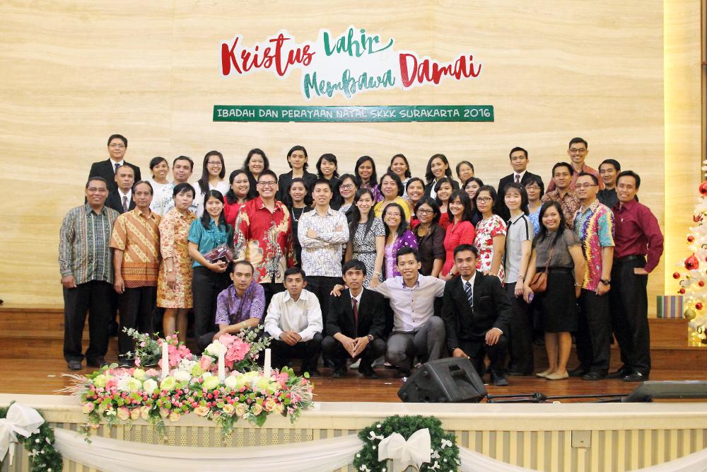 Ibadah dan Perayaan Natal SMP Kristen Kalam Kudus Surakarta 2016