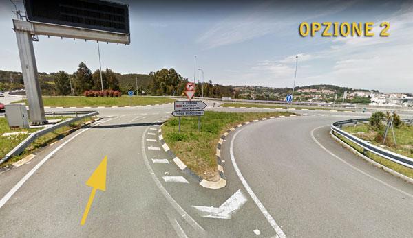 Aeroporto di A Coruña in macchina opzione 2