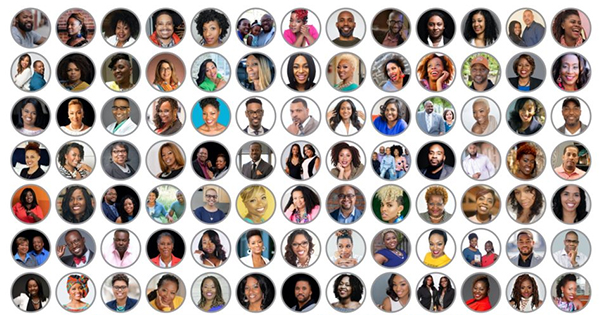 Black business owners and members of Traffic Sales and Profit