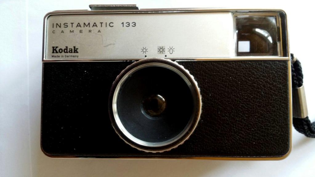 #164 Kodak Instamatic 133 Plastik Meniscus Lens (1)