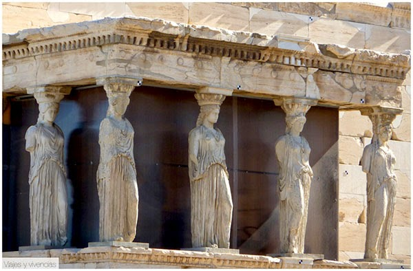 Erecteión, Atenas