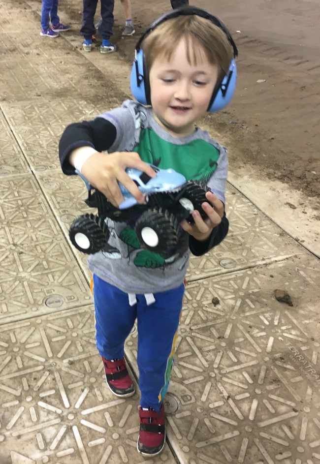 Boy-with-Megalodon-toy-car