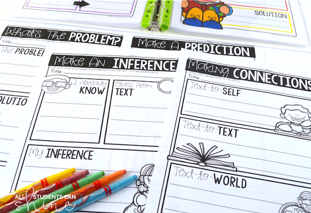 guided reading comprehension worksheets