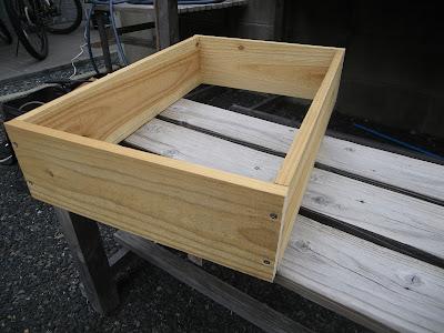 木枠 組み立て