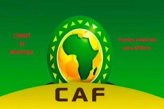 arbitros-futbol-sanciones-caf