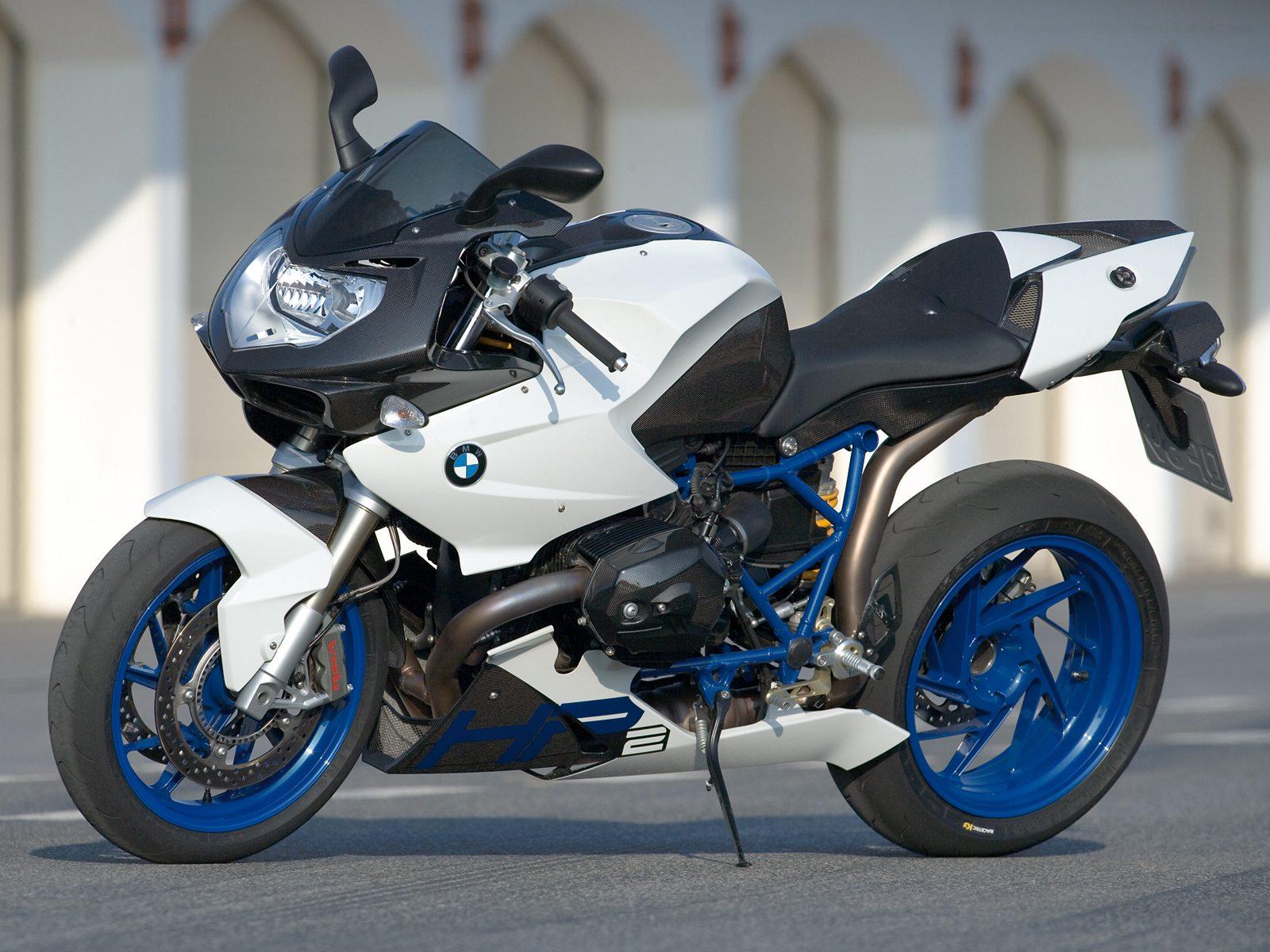 2008 BMW HP2 Sport Motorcycle Desktop Wallpaper