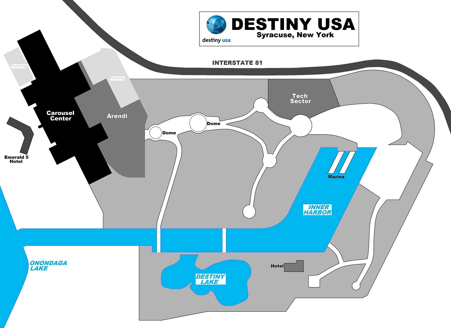 THE SHOPPING MALL MUSEUM August 2010 – Destiny Usa Mall Floor Plan