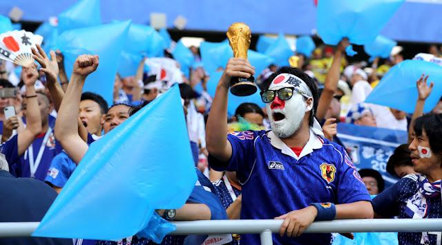 Jepang berada di Piala Dunia