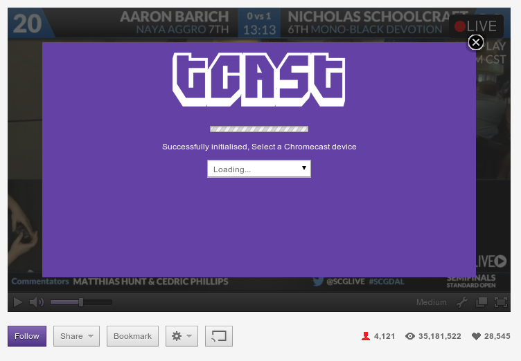 Twitch Chrome Addon