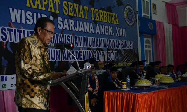 Rektor IAIM Sinjai Puji Perhatian Bupati Sabirin Didunia Pendidikan
