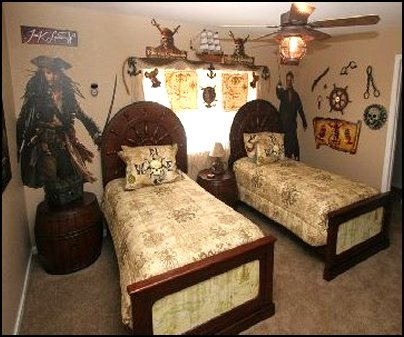 pirates of the caribbean pirate ship bed Pirates of the Caribbean bedding and Pirates of the Caribbean wall mural decals
