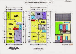 Gambar Desain Rumah Minimalis Type 21 Ala Modern
