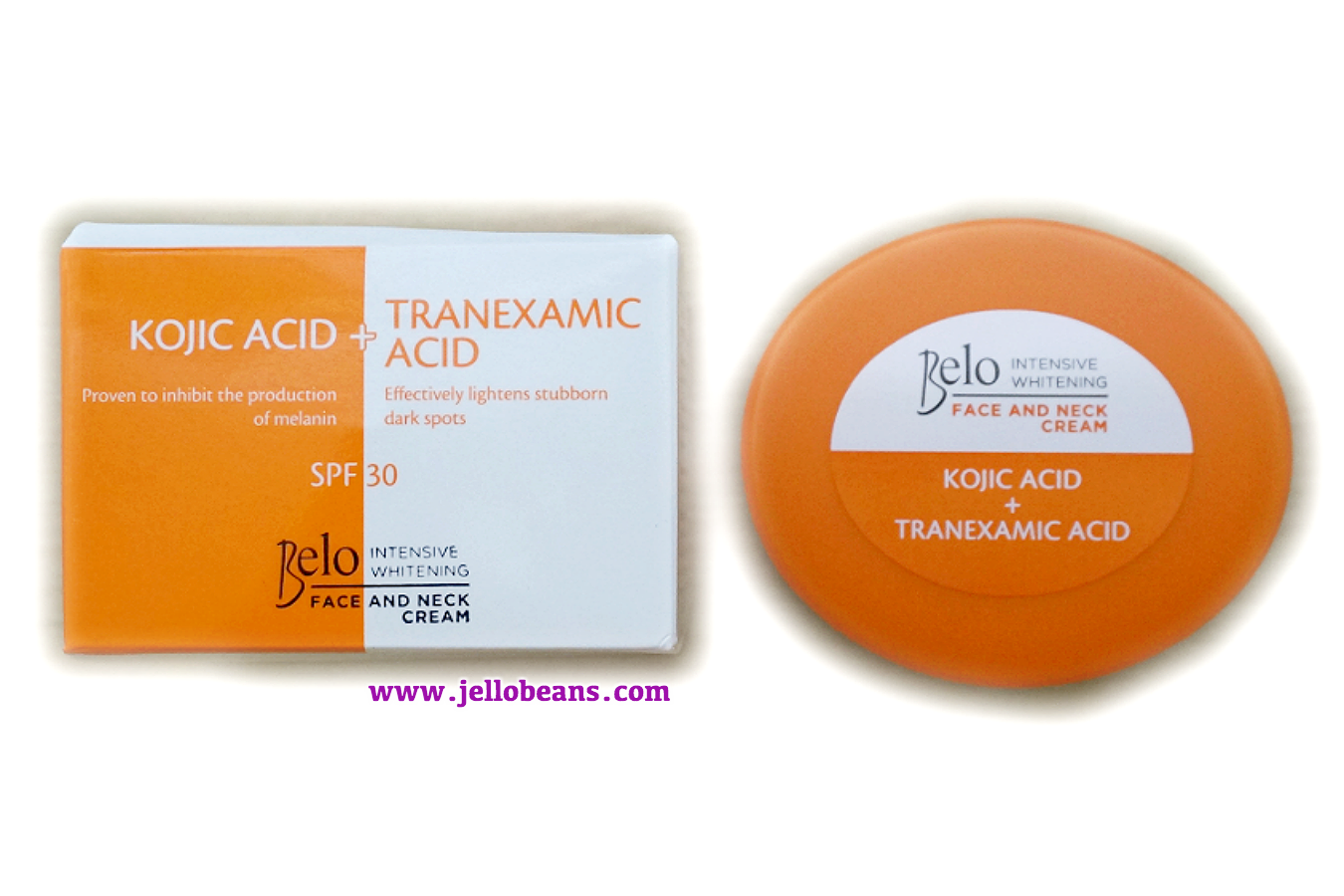 Belo Intensive Whitening Body Cream SPF 30 & Face and Neck