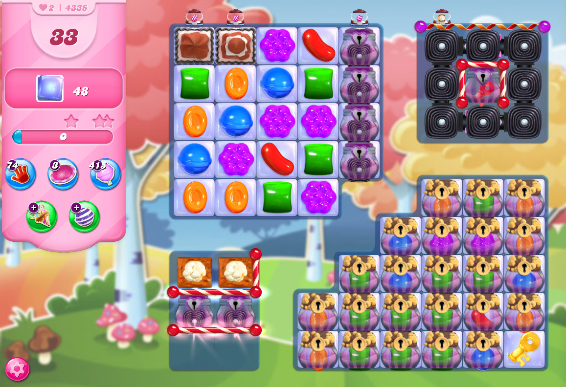 Candy Crush Saga level 4335