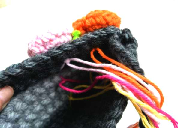 bolso, crochet, ganchillo, flores, tutoriales, labores